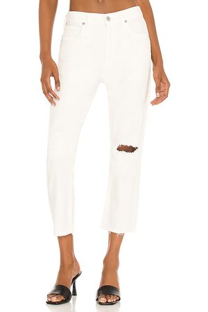 Citizens of Humanity Corey Crop Slouchy Slim in Neutral.