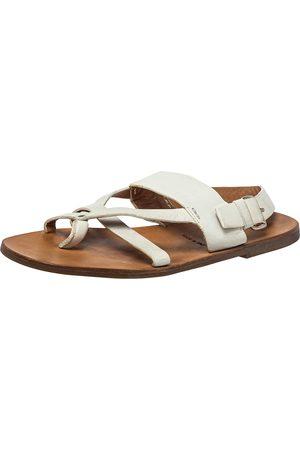 Prada Leather Thong Sandals Size 42