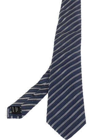 Tom Ford Men Neckties - Striped Jacquard Silk Cotton Tie
