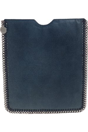 Stella McCartney Dark Faux Leather Falabella iPad Case
