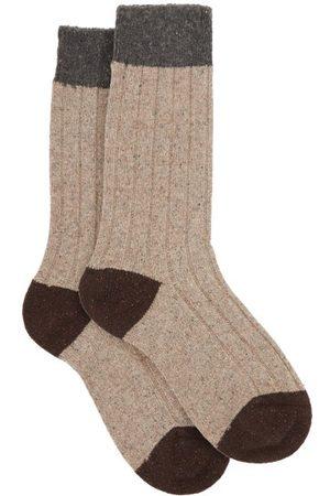 Pantherella Thornham Ribbed Socks - Mens