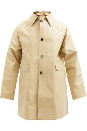 Kassl Editions Original Oil Cotton-blend Coat - Mens