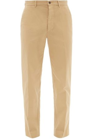 Men Chinos - Officine Générale - Abel Cotton-blend Twill Chino Trousers - Mens