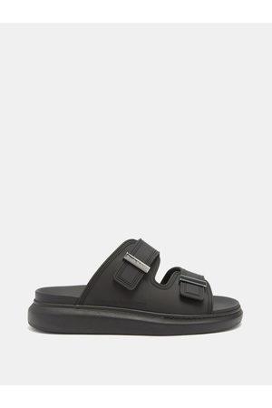 Alexander McQueen Men Sandals - Hybrid Leather Sandals - Mens
