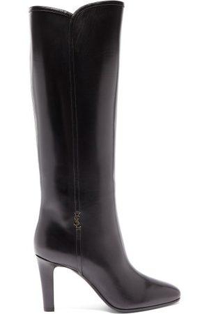 Saint Laurent Jane Knee-high Leather Boots - Womens