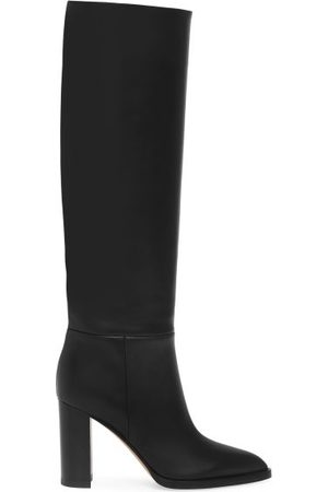 Gianvito Rossi Hynde 85 Leather Knee-high Boots - Womens