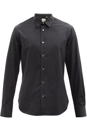 Men Shirts - Paul Smith - Point Collar Cotton-poplin Shirt - Mens