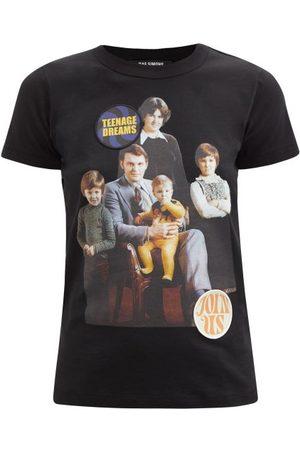 Women T-shirts - Raf Simons - Portrait-print Cotton-jersey T-shirt - Womens