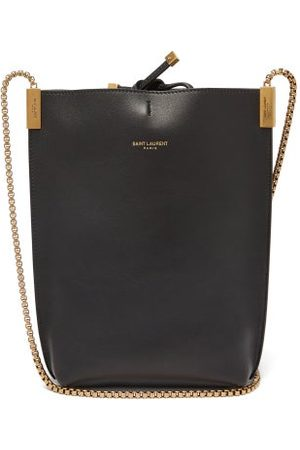 Saint Laurent - Suzanne Mini Leather Cross-body Bag - Womens