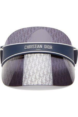 Dior Club Oblique Monogram-lens Visor - Womens