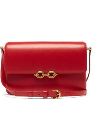 Saint Laurent - Maillon Medium Leather Shoulder Bag - Womens - Dark