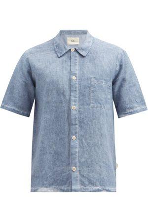 Folk Men Short sleeves - Seoul Linen Short-sleeved Shirt - Mens