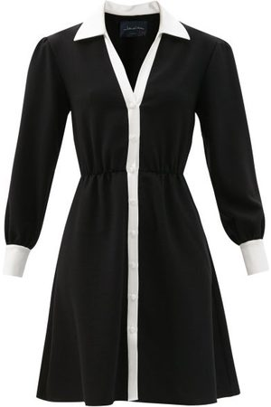 Women Casual Dresses - Julie De Libran - Fanélie Wool Shirt Dress - Womens - &