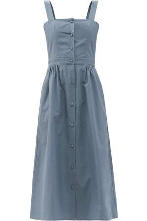 Julie De Libran Women Midi Dresses - Sun Cotton Midi Dress - Womens
