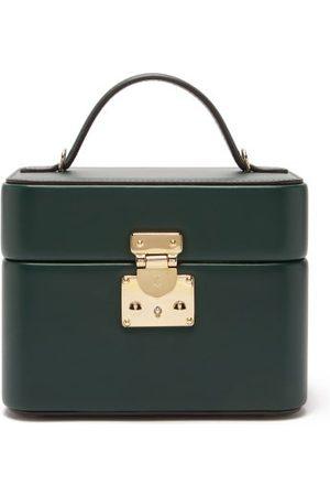 Tanner Krolle - Annabel 18 Leather Box Bag - Womens - Dark