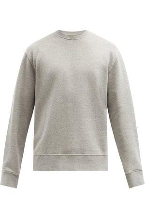 Folk Cotton-jersey Sweatshirt - Mens - Grey