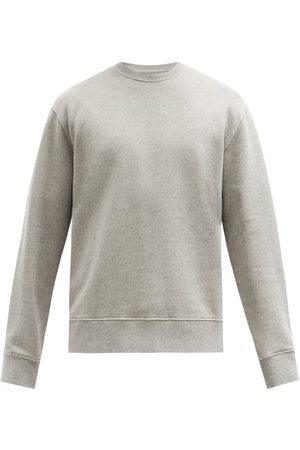 Men Sweatshirts - Folk - Cotton-jersey Sweatshirt - Mens - Grey