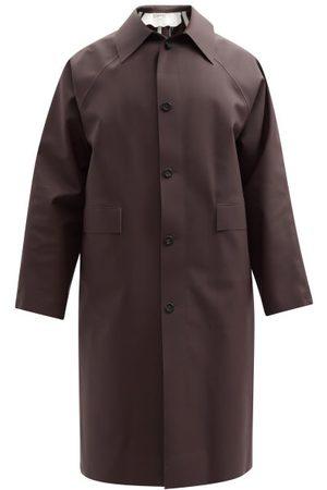 Kassl Editions Original Rubber Trench Coat - Mens - Dark