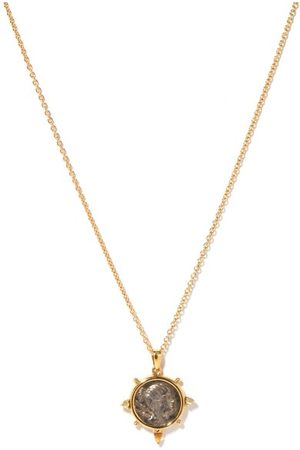 Dubini Diana -coin & 18kt Necklace - Womens