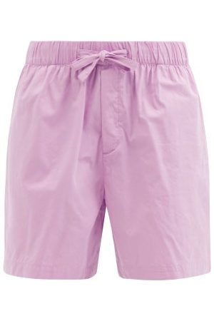 Tekla - Organic-cotton Pyjama Shorts - Womens