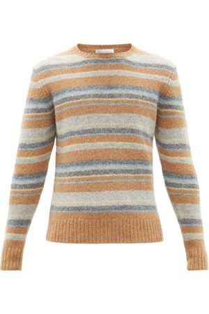 OFFICINE GENERALE Marco Striped Sweater - Mens - Multi
