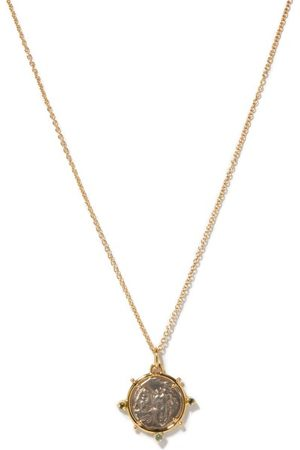 Dubini Women Necklaces - Dioscuri -coin & 18kt Necklace - Womens