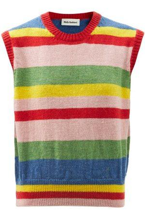 Molly Goddard - Blair Striped Lambswool Sleeveless Sweater - Womens - Multi