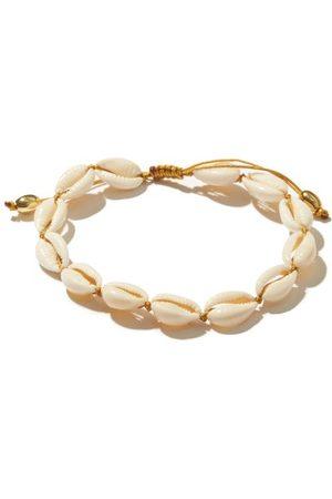 Tohum Design Puka-shell & 24kt Gold-plated Ankle Bracelet - Womens