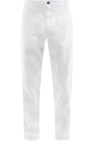 Vilebrequin Panache Slim-leg Linen Trousers - Mens