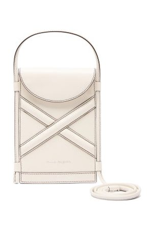 Alexander Mcqueen - The Curve Mini Leather Cross-body Bag - Womens