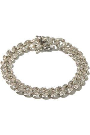 FALLON Women Bracelets - Crystal-pavé Curb-link Bracelet - Womens