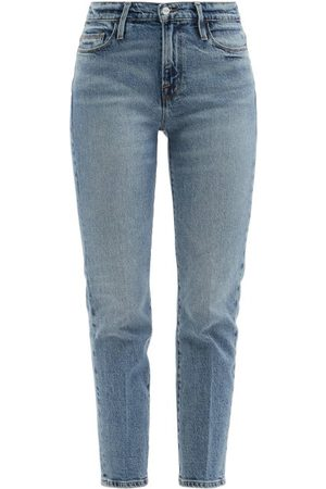 Frame Le Nouveau Straight-leg Jeans - Womens - Mid Denim