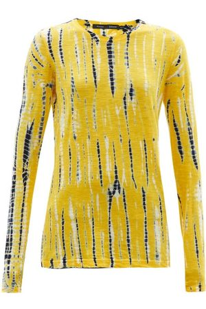 Women Long Sleeve - Proenza Schouler - Tie-dyed Cotton-jersey Long-sleeved T-shirt - Womens