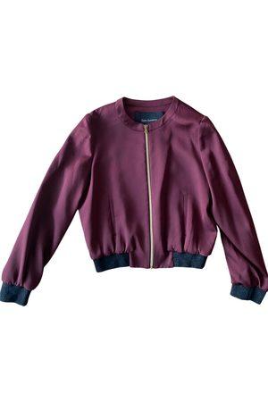 Tara Jarmon Polyester Leather Jackets