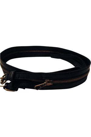 MM6 Leather Belts