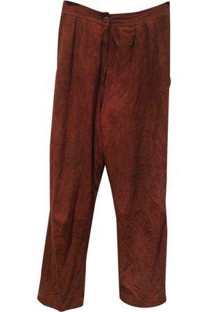 UNGARO PARALLELE Leather Trousers