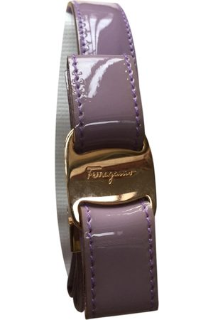 Salvatore Ferragamo Patent leather Belts
