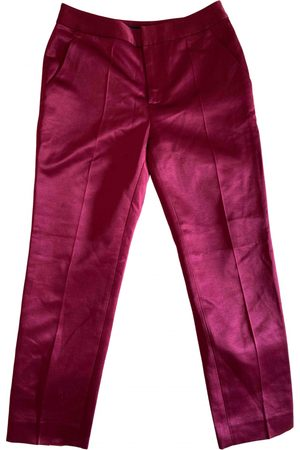 Marc Jacobs Silk Trousers