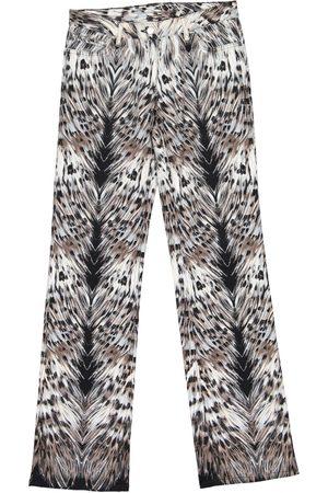 Roberto Cavalli Cotton Trousers