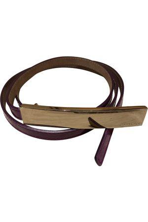 Jimmy Choo Patent leather Belts