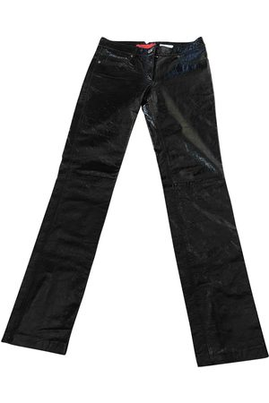 Tommy Hilfiger Leather straight pants