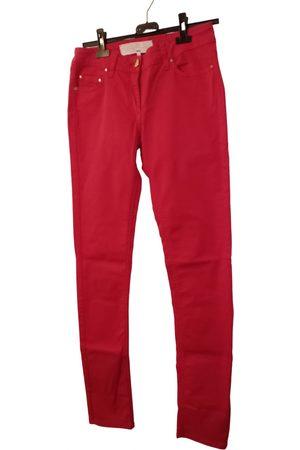 Elisabetta Franchi Cotton Trousers