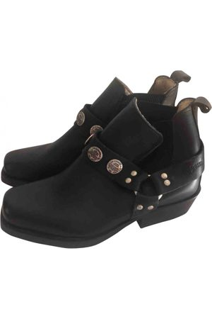 Levi's Leather Ankle Boots