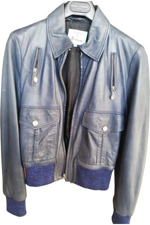 Guess Leather Leather Jackets
