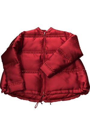 Valentino Garavani Polyester Leather Jackets