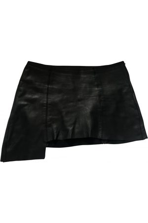 ARE YOU AM I Leather Skirts