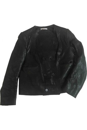 Carven Leather Leather Jackets