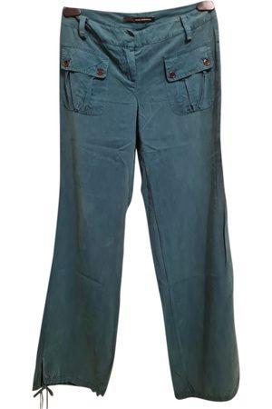Atos Lombardini Silk straight pants