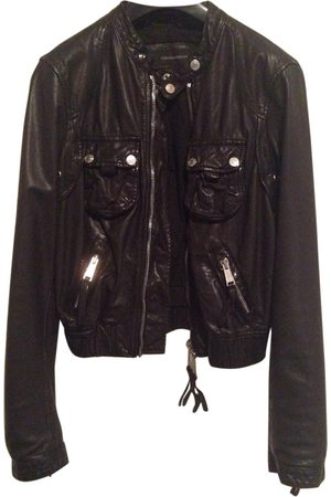 Dsquared2 Leather Jackets