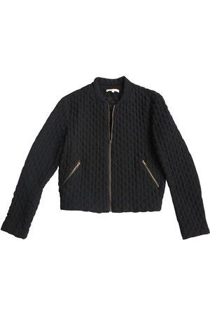 Maje Viscose Leather Jackets